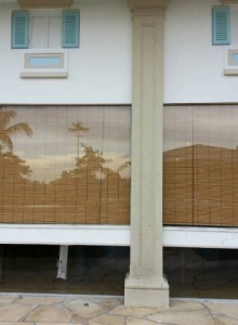 Bamboo Blinds (Noodle Rest. in Sentosa)