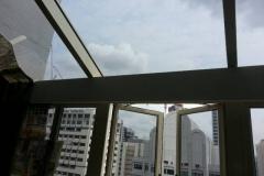 Hotel Lounge Room (Skylight Blinds)