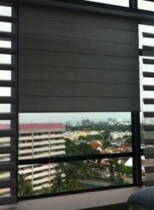 IRIS Shades & Roller Blinds (Trizon Condo)